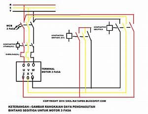 Penghasutan Bintang Segitiga Manual Motor 3 Fasa