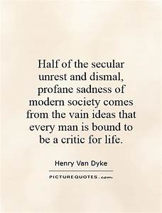 Half of the sec... Secular Society Quotes
