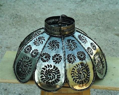 mexican punched tin light fixtures diy crafts