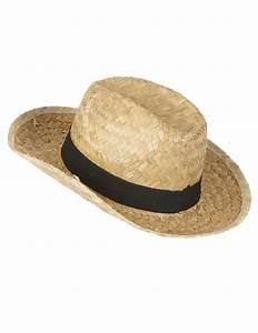 Chapeau De Paille Enfant : chapeau cowboy en paille enfant deguise toi achat de ~ Melissatoandfro.com Idées de Décoration