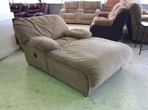 reclining chaise fabric chic chaise lounge sofa cozy