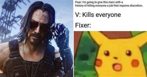 10 Hysterical Cyberpunk 2077 Logic Memes That Are Too Funny