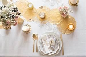 Deco Noel Blanc : deco table noel blanc et or noel blanc et or pinterest noel ~ Teatrodelosmanantiales.com Idées de Décoration