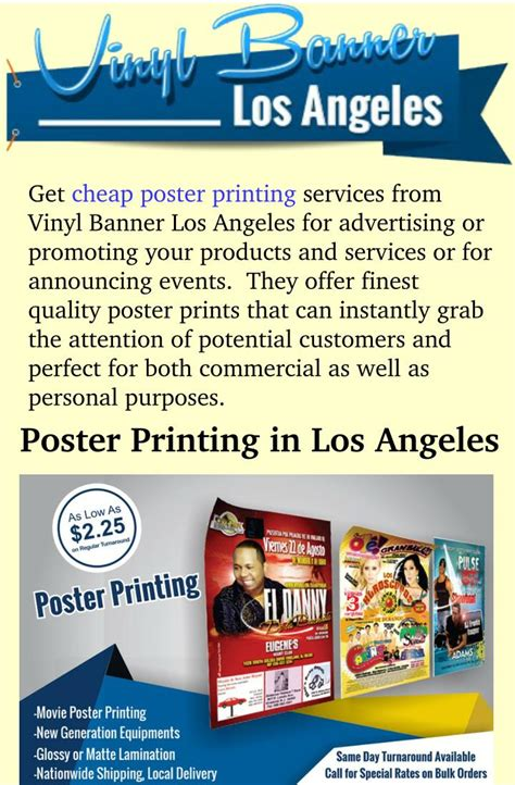 cheap poster print  los angeles powerpoint