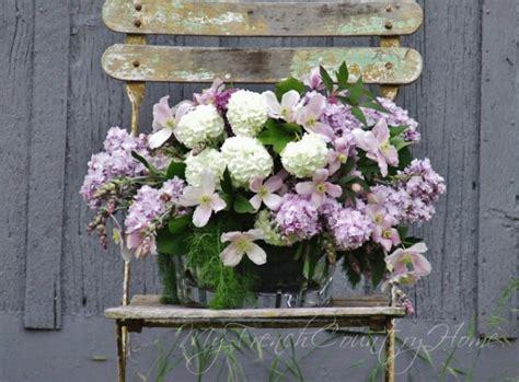 wedding wednesday blue lavender purple floral