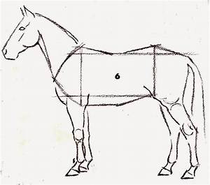 6 Easy Step To Draw a Horse in Painting Tips