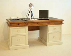 Schreibtisch Vintage Weiß : schreibtisch vintage landhaus pinie massiv antik wei ebay ~ Lateststills.com Haus und Dekorationen