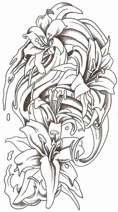 Tattoo Splash Water Flowers Designs Deviantart Drawings