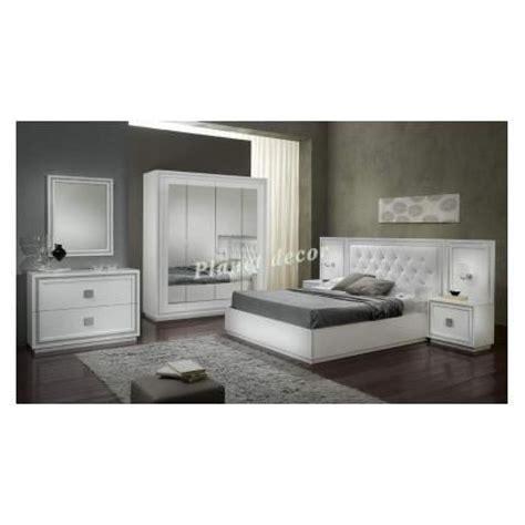 chambre a coucher blanc chambre à coucher complete model kristel blanc achat vente chambre complete pas cher