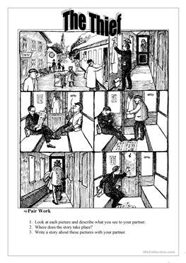 english esl picture story worksheets  downloaded