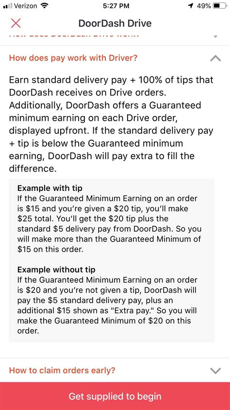 exposed  tipping system doordashdrivers