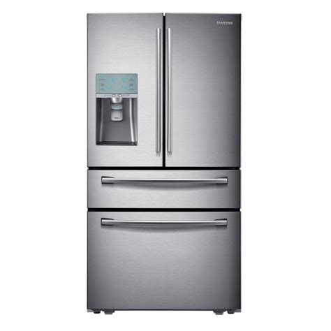 Shop Samsung 291cu Ft 4door French Door Refrigerator