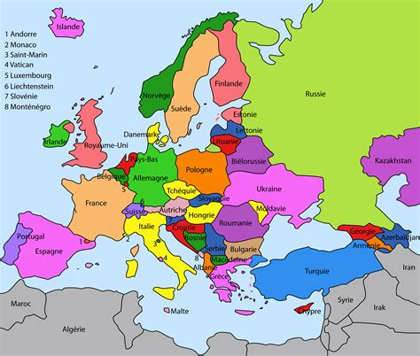 Carte Capitales Europe De L Est by Carte Europe De L Est Images Et Photos 187 Et Voyage