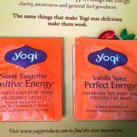 yogi tea vanilla spice perfect energy reviews