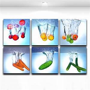 50 quadri moderni per cucina stampe su tela componibili for Quadro cucina moderno