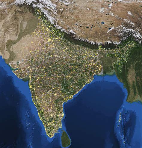 Ģeogrāfiskā karte - Indija - 3,000 x 3,125 Pikselis - 3.59 ...