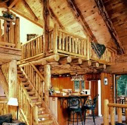 Country Log Home Interiors