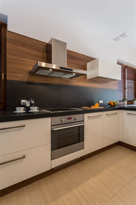 black backsplash kitchen 17 small kitchen design ideas designing idea