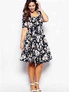 Short summer dresses plus size - PlusLook.eu Collection