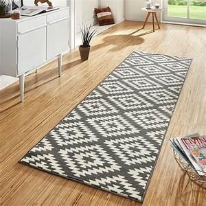 Flur Teppich Grau : design velours teppichl ufer br cke teppich flur kurzflor nordic grau creme ebay ~ Indierocktalk.com Haus und Dekorationen