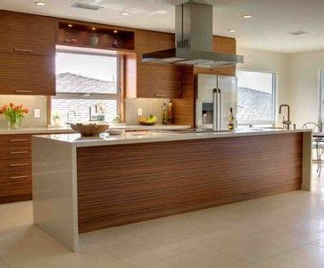 walnut veneer kitchen cabinets 36 best images about kitchen waterfall bench ideas on 6998