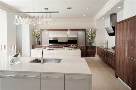 stainless steel cabinets modern kitchen designs  long