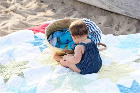 Mom Baby Summer Beach Picnic Tips Lauren Mcbride