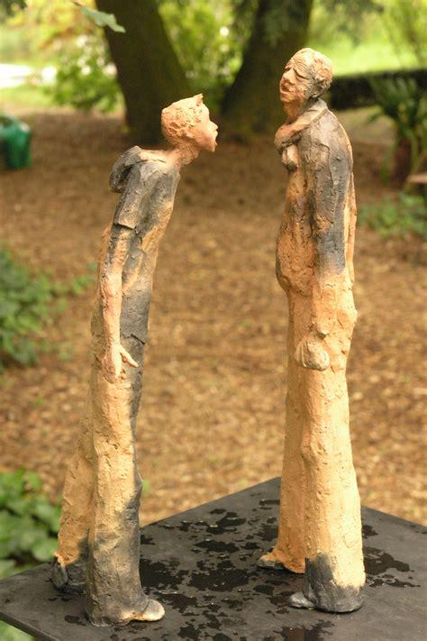 garten skulpturen taal keramik