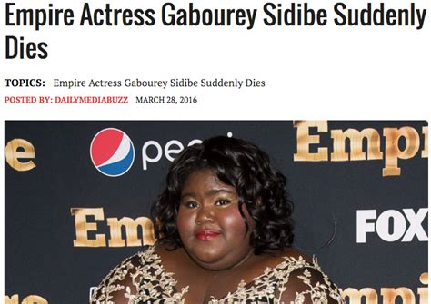 Gabourey Sidibe Memes - fact check gabourey sidibe death hoax