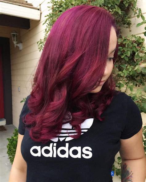 burgundy hair color ideas hairstyles shades
