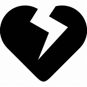 Heart broken symbol Icons | Free Download