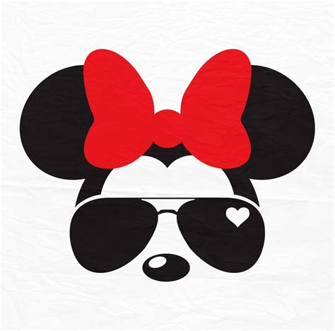 It really doesn't get any easier than this. Disney Mickey Minnie Mouse Aviators Sunglasses Icon | Etsy ...