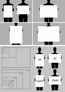 People Holding Blank Poster Templates  Vector Set Stock