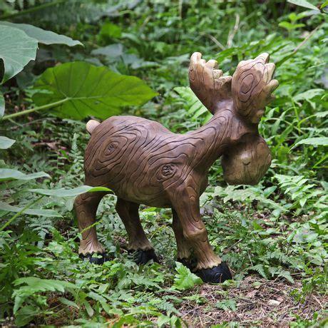 moose lawn ornament mainstays 13 5 quot medium moose lawn ornament walmart canada