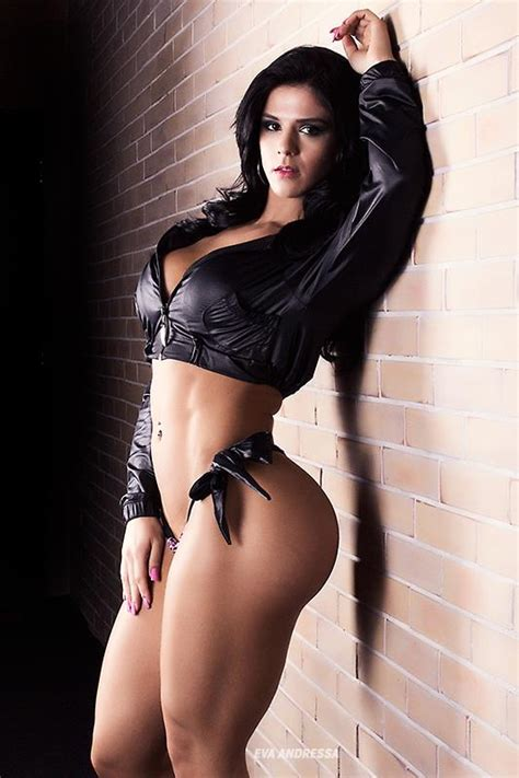 Eva Andressa Vieira Fitness Girl From Brazil Hot Stills
