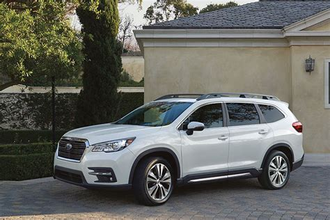 subaru ascent  york international auto show