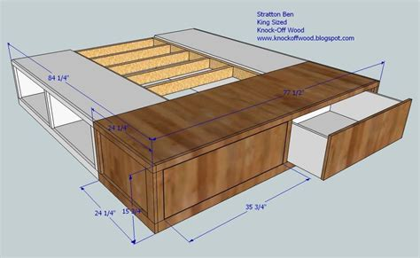 ana white king storage bed diy projects