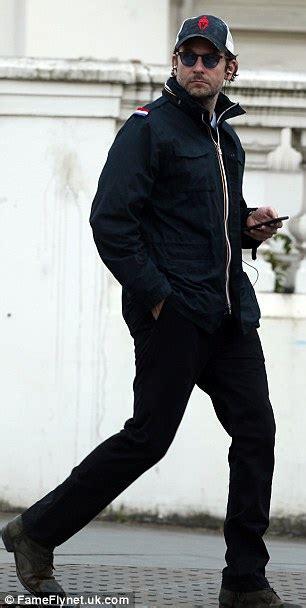 Bradley Cooper Enjoys Stroll London Days After Irina