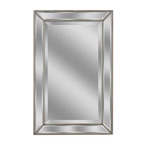 20 X 30 Bathroom Mirror by Deco Mirror 32 In L X 20 In W Metro Beaded Mirror In