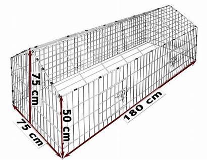 Enclosure Rabbit Metal Pet Kaninchenstall Enclos Playpen