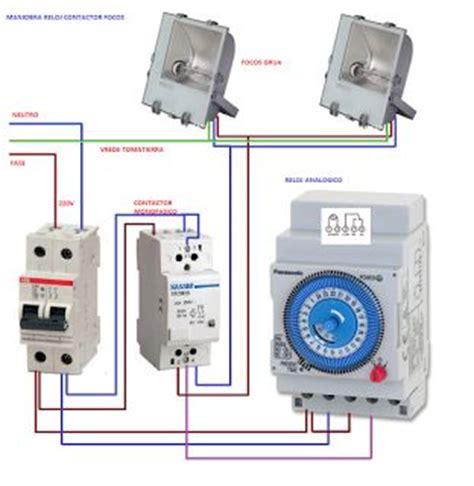 esquemas el 233 ctricos maniobra reloj contactor 2 gadgets wifi i 2019 electrical