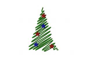 satin stitch decorative christmas tree daily embroidery