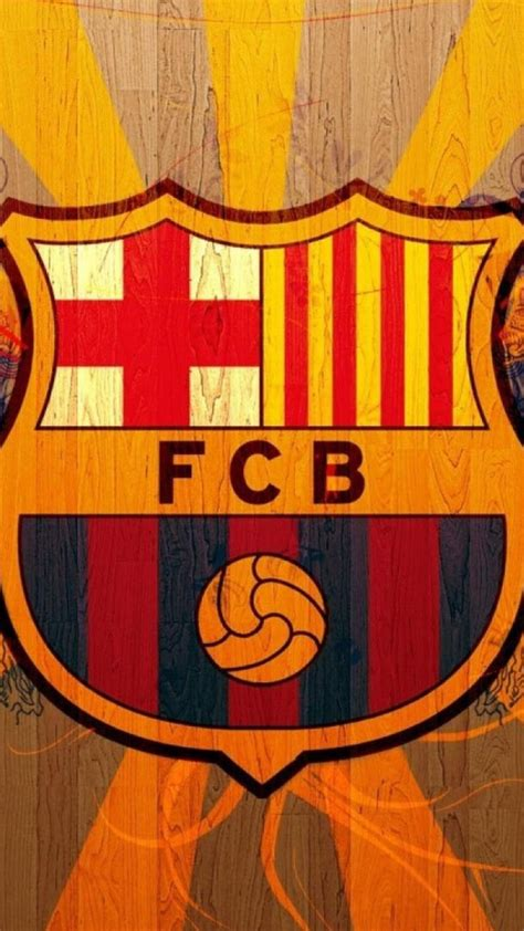 With approximately 162,000 members it is the second largest sports club in the world. FC Barcelona Logo Wallpaper