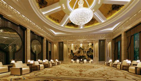 luxury lobby hall  model cgtrader