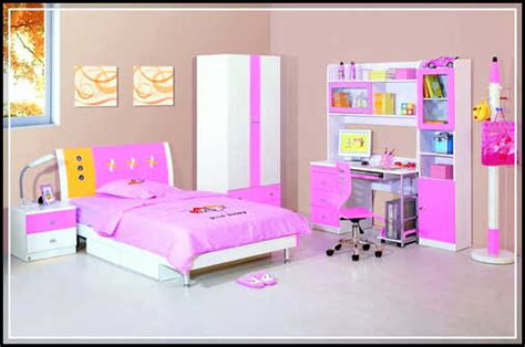 Beautiful And Cheerful Children Bedroom Sets For Girls