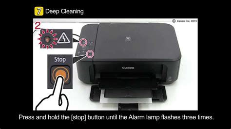 pixma mg uneven printing faint printing youtube
