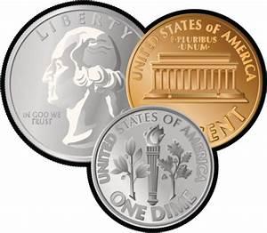 Us coins clipart clipartfest and - Clipartix