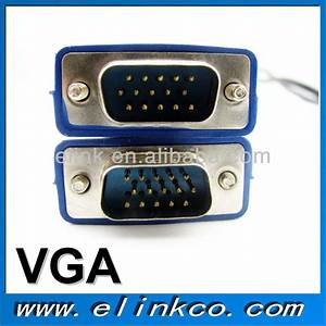 High Quality Wiring Diagram Vga Cable For Hdtv Pc Monitor