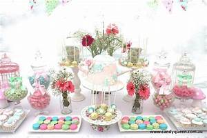 Floral High Tea Bridal Shower with Really Cute Ideas via ...
