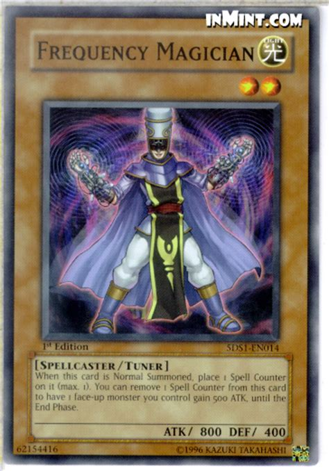 Spellcaster Deck Yugioh Tag 5 by Inmint Yugioh Common Card Singles Frequency